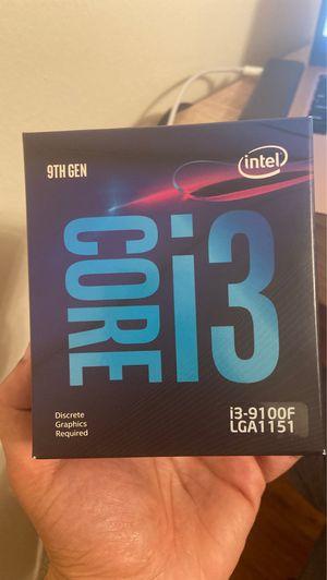 Intel Core i3-9100F Coffee Lake 3.6GHz Quad-Core LGA 1151 Boxed Processor for Sale in Queens, NY