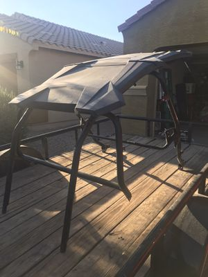 Polaris RZR XPT4 cage with oem roof for Sale in Tolleson, AZ