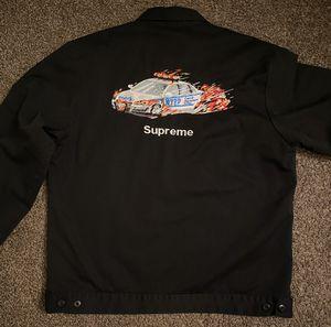Supreme cop car work jacket size medium for Sale in Anaheim, CA