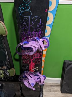 Ladies Snowboard, Binding & Boots for Sale in Yakima,  WA