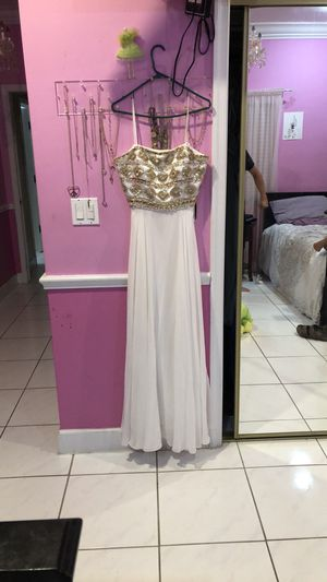 Gold and white Joana Chen dress for Sale in Miami, FL