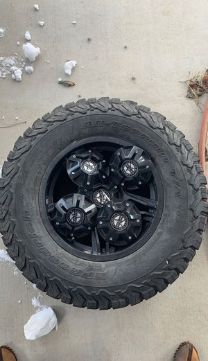 5 BF Goodrich R17 Tires and Rims for Sale in Morrison, CO