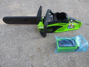 Cordless Chainsaw for Sale in Duncanville, TX