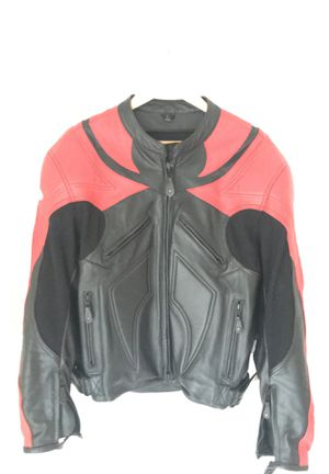 LEATHER MOTORCYCLE JACKET for Sale in Seminole, FL