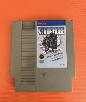 SALE Xenophobe Super Nintendo (untested) for Sale in Columbus, OH