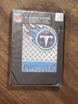 Tennessee Titans Playing Cards for Sale in Murray, KY