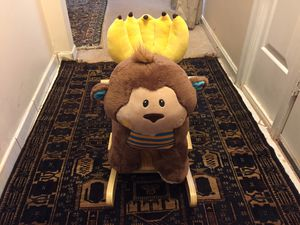 Hug fun rocking musical monkey for Sale in Manassas, VA