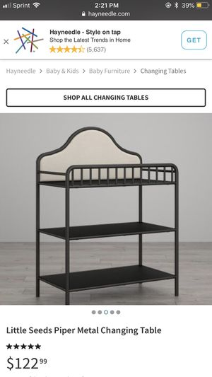 Changing table for Sale in Sudbury, MA