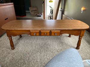 Solid wood coffee table for Sale in Lockport, NY