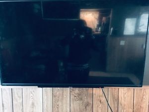 55 inch tv nice deal 190 $ free already jail break fire stick for Sale in Garfield Heights, OH