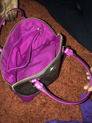 Authentic coach purse for Sale in Fresno, TX