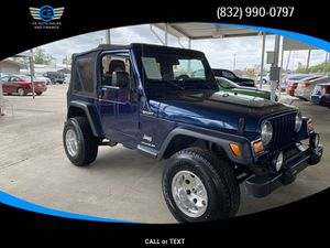 2005 Jeep Wrangler for Sale in Baytown, TX