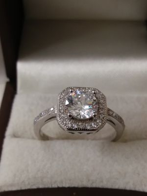 New Solid 925 Sterling Silver Engagement ring size 6 / 7 or 8 $65 each OR BEST OFFER for Sale in Phoenix, AZ