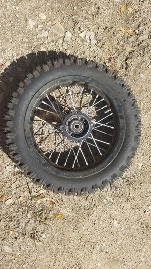 Dirt bike tire for Sale in Driftwood, TX