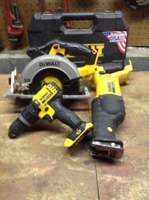 Dewalt 20 V circular Saw, saw saw, hammer drill for Sale in Columbus, OH
