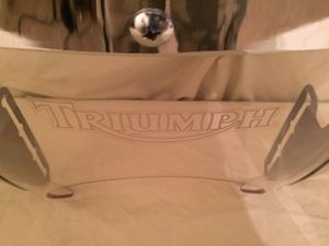 Triumph Motorcycle Windscreen for Sale in Boca Raton, FL