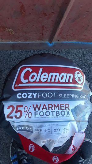 Coleman new sleeping bag for Sale in Riverside, CA
