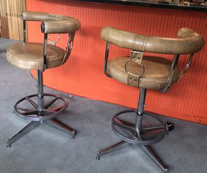 Pair of Daystrom Furniture Company Swivel Bar Stools for Sale in Seattle, WA