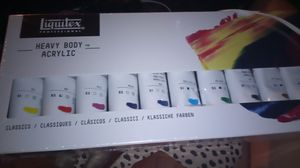 Heat body acrylic 12pc for Sale in Los Angeles, CA