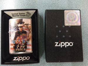 N/B Zippo MARINE PROUD Limited edition for Sale in Mount Washington, KY