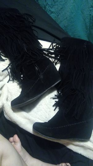 Fringe Boots size 8 1/2 (fit like a 7) for Sale in Tulsa, OK