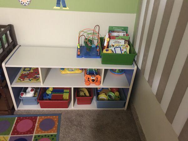 Kids desk/ cabinet