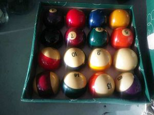 Pool table balls for Sale in Roselle, IL
