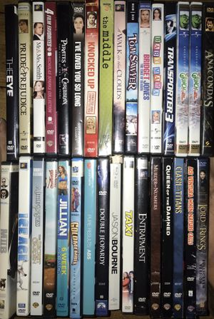 Bulk dvds 33 movies for Sale in Los Angeles, CA