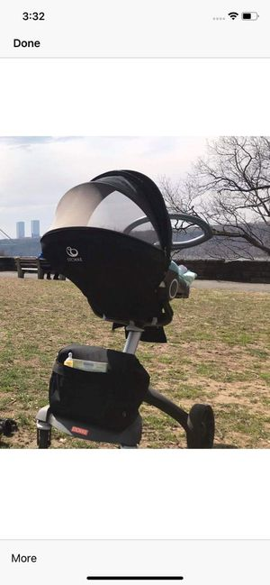 Stokke stroller with car seat for Sale in New York, NY