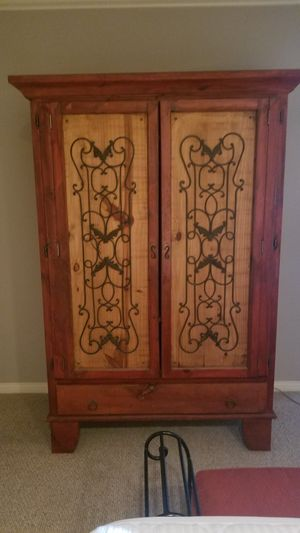 Heavy Duty Antique Armoire for Sale in Los Angeles, CA