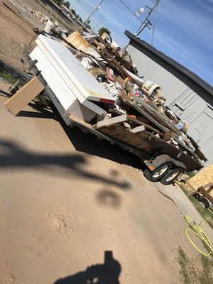 Flat bed trailer loaded !! 1500 for Sale in Phoenix, AZ