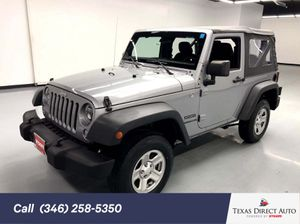 2015 Jeep Wrangler for Sale in Stafford, TX
