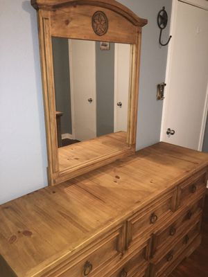Rustic Drawers w/ Mirror for Sale in Fort Worth, TX