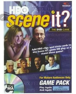 HBO SCENE IT? DVD Game Expansion Pack Sopranos Sex City Curb Your Enthusiasm for Sale in Greenville,  SC