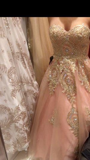 Blush pink prom/quinceañera dress for Sale in Auburndale, FL