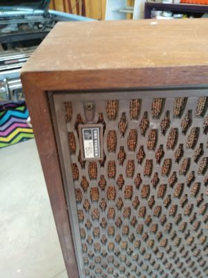 The Fisher XP 60, Zenith cabinet stereo, player piano with music sheets. for Sale in Portage, MI