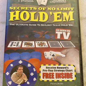 DVD Secrets Of No-Limit Texas Hold'em for Sale in Lincoln Park, MI
