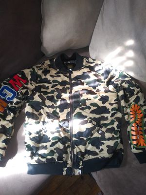 Bape bomber for Sale in Detroit, MI