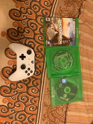 Controller and games CHEAP for Sale in Arlington, VA