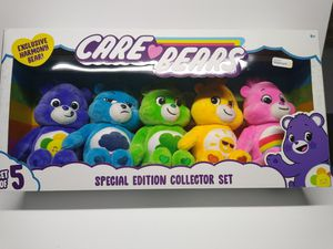 CARE BEARS - Set of 5 Plush Bears - Special Edition Collector's Set for Sale in Pottsville, PA