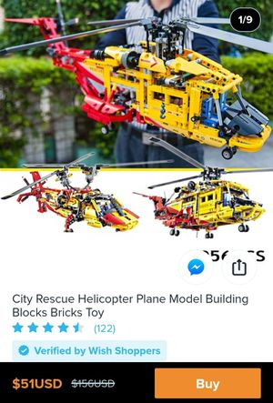City Helicopter, Lego Technics for Sale in Seattle, WA
