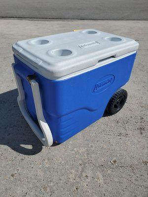 Coleman rolling cooler 40 quart for Sale in Port St. Lucie, FL