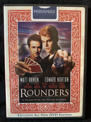 Rounders DVD for Sale in Lexington, SC
