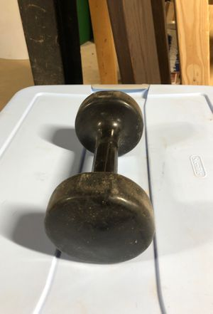 10 pound rubber coated dumbbell for Sale in Decatur, GA