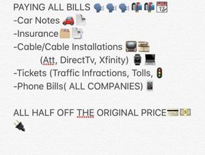 Paying All Bills 1/2 OFF! Cable, WiFi, Rent for Sale in Capitol Heights, MD