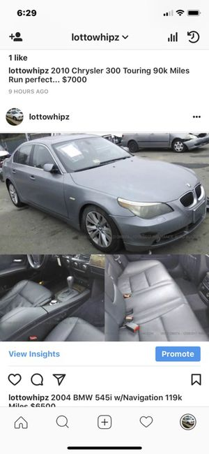 BMW 2004 545i for Sale in Silver Spring, MD