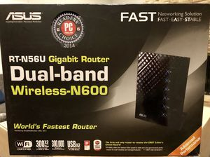 Wireless Router - ASUS N600 for Sale in Dallas, TX