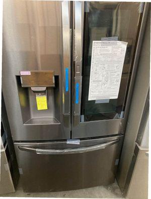 LG FRIDGE 26 cu. ft. 3-Door Smart French Door Refrigerator with InstaView Door-in-Door for Sale in Whittier, CA