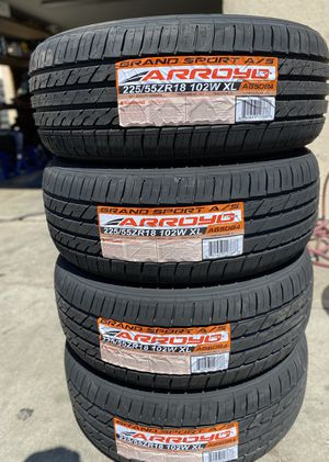 225/55R18 Arroyo $380 Four Brand New Tires ( Installation & Balancing Included ) for Sale in Bloomington, CA