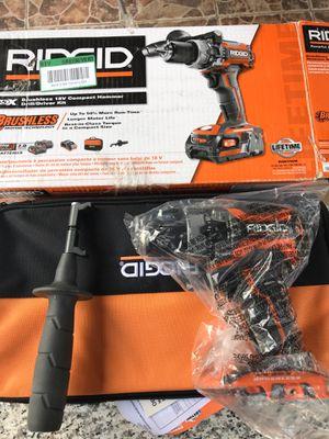Ridgid brushless 18v brushless compact hammer for Sale in Long Beach, CA